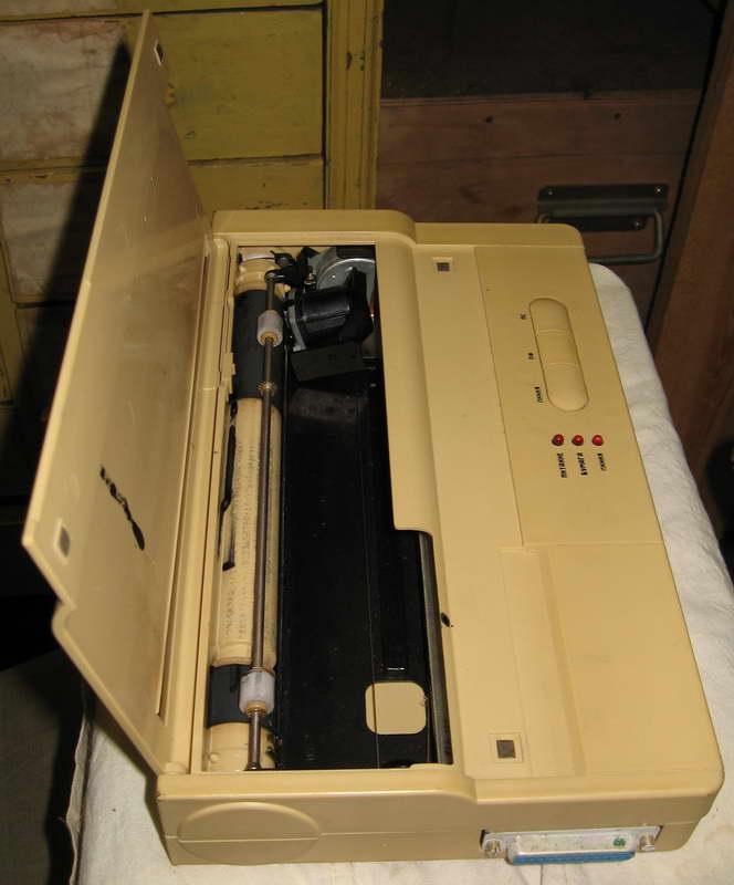 51 Фото старого струйного принтера Электроника (СССР конец 80 годов) .